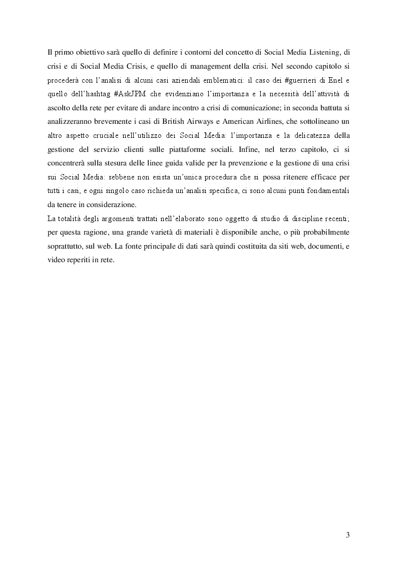 Anteprima della tesi: Social Media e Ascolto della Rete , Pagina 3