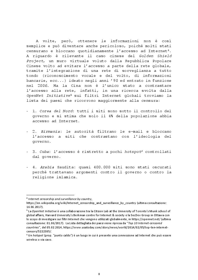Anteprima della tesi: L'altra faccia della rete: le Criptovalute e il Deep Web, Pagina 5