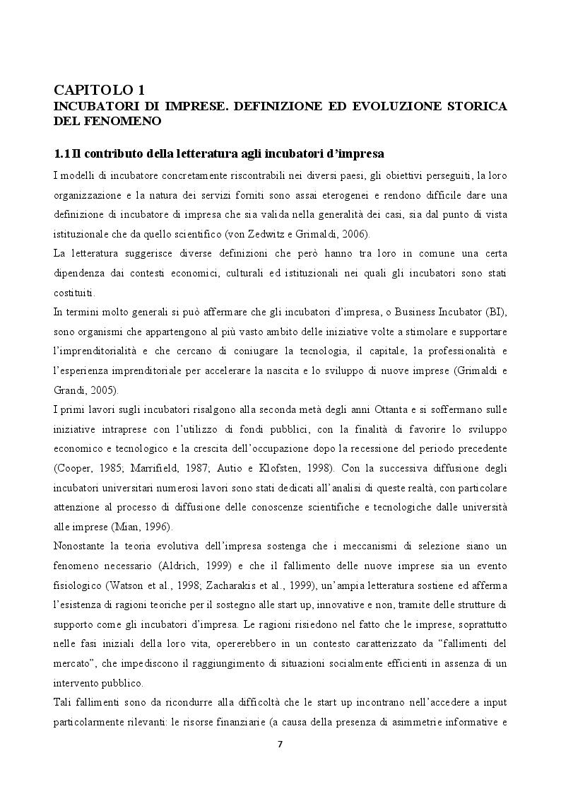 "Anteprima della tesi: L'incubatore d'impresa ""Urban Innovation Laboratory"", Pagina 5"