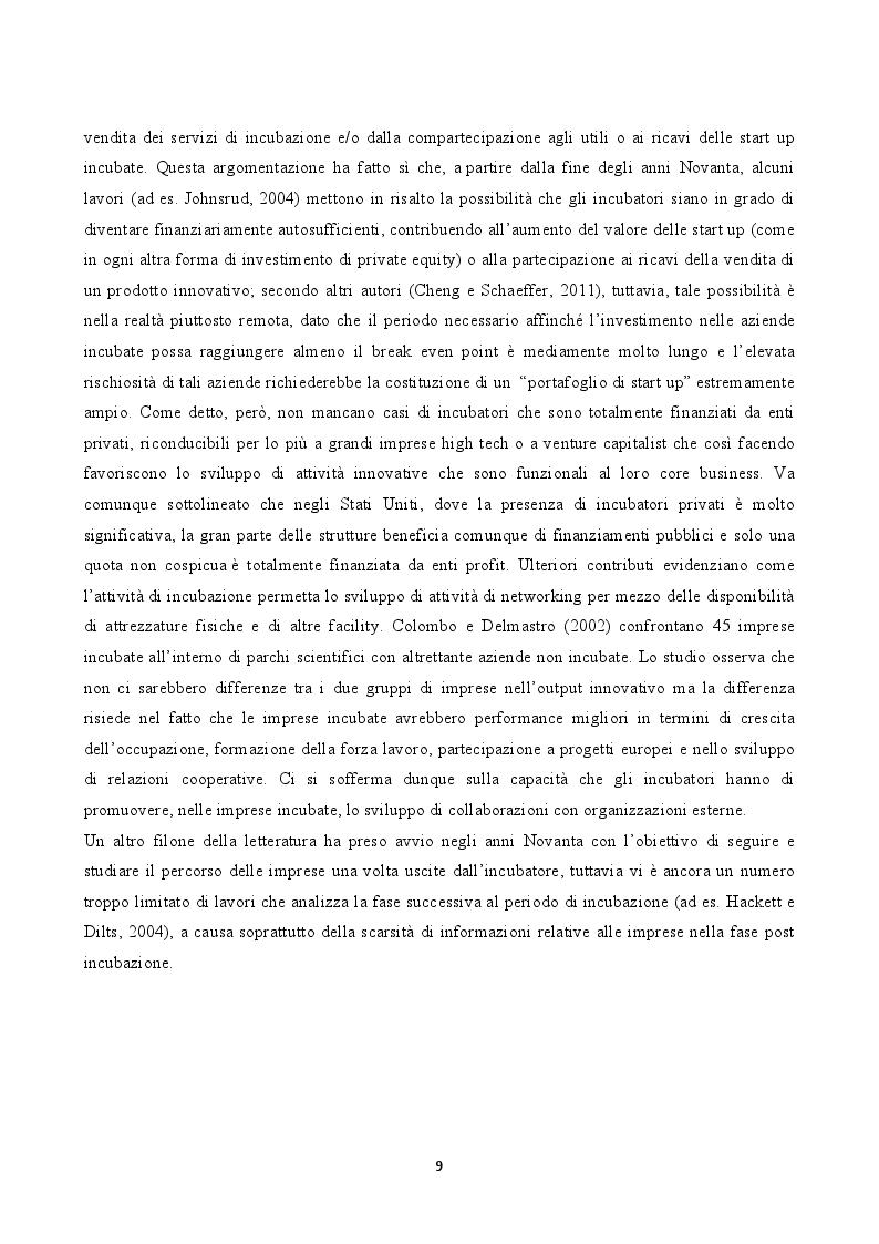 "Anteprima della tesi: L'incubatore d'impresa ""Urban Innovation Laboratory"", Pagina 7"