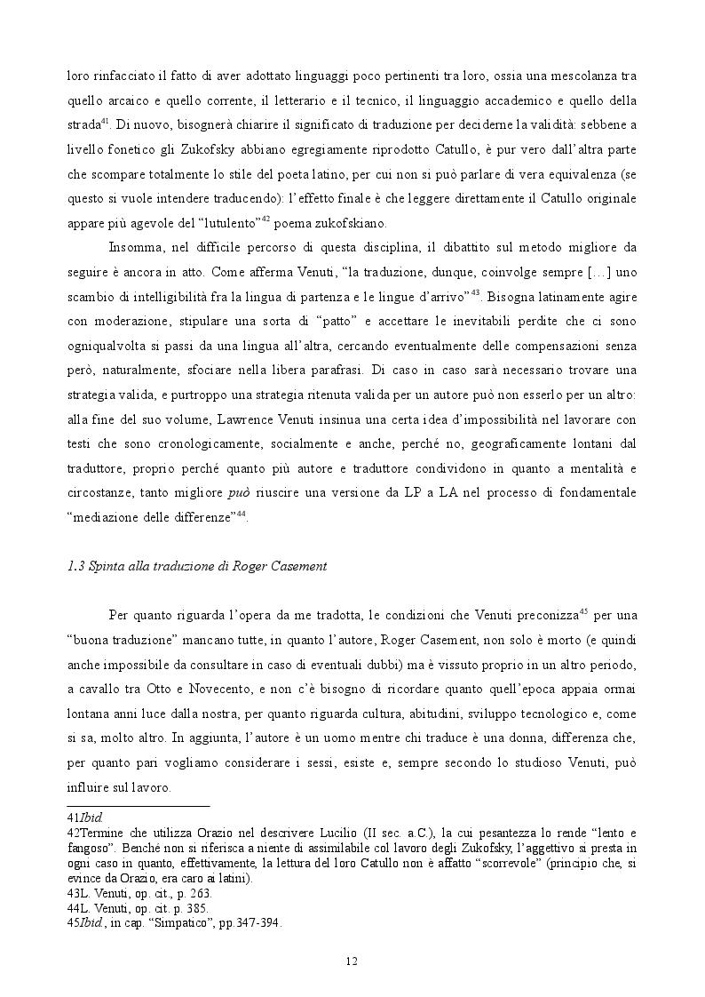 Anteprima della tesi: Roger Casement - The Amazon Journal, Pagina 8