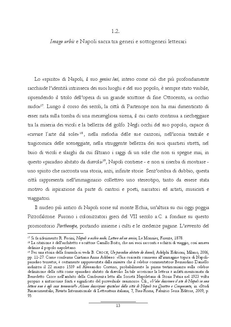 Estratto dalla tesi: Dall'Araldo al Capasso. L'ekphrasis della chiesa di Santa Maria Maggiore attraverso le guide di Napoli