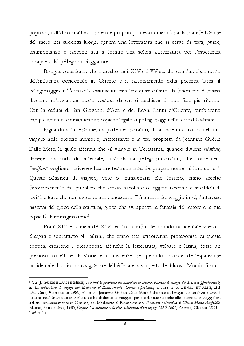 Anteprima della tesi: Dall'Araldo al Capasso. L'ekphrasis della chiesa di Santa Maria Maggiore attraverso le guide di Napoli, Pagina 8