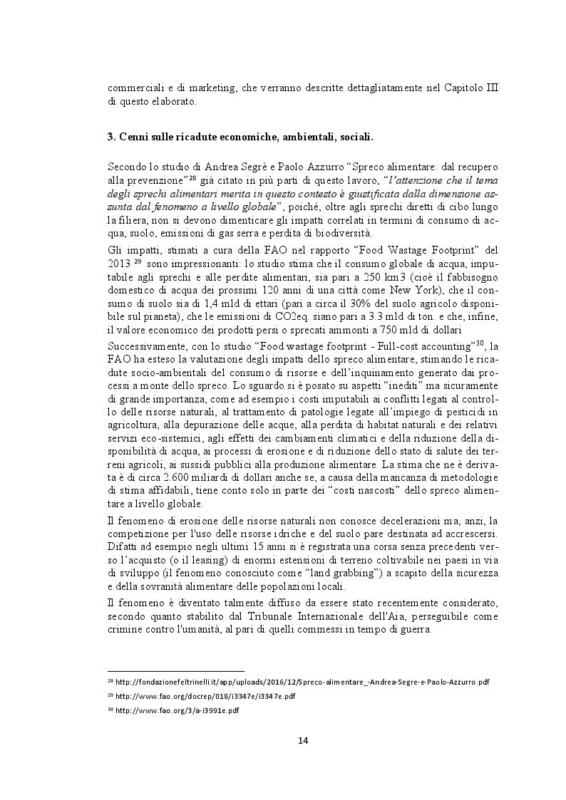 Estratto dalla tesi: Recupero e redistribuzione sociale delle derrate alimentari: il caso del Centro Agroalimentare di Torino. Stato dell'arte e proposte di adozione di buone pratiche.