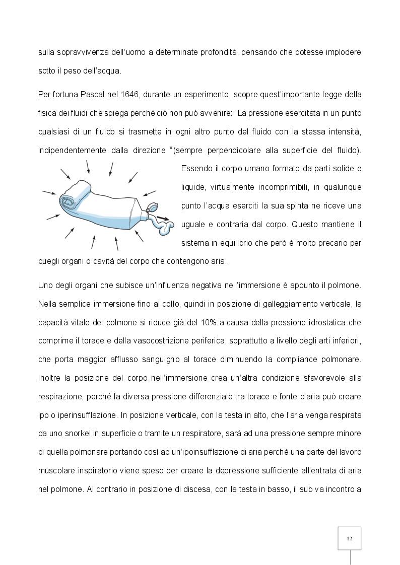 Estratto dalla tesi: La Patologia da Decompressione (PDD) nel subacqueo: studio retrospettivo degli incidenti trattati in camera iperbarica
