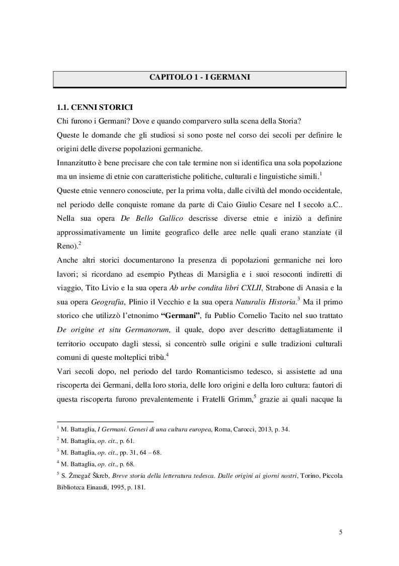 """Anteprima della tesi: Cristianesimo e Cynewulf: analisi del lessico cristiano nell'opera """"Sant'Elena"""", Pagina 3"""