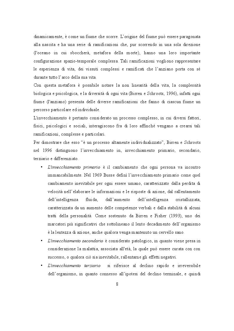 Anteprima della tesi: L'Invecchiamento: un percorso attivo nel volontariato, Pagina 3