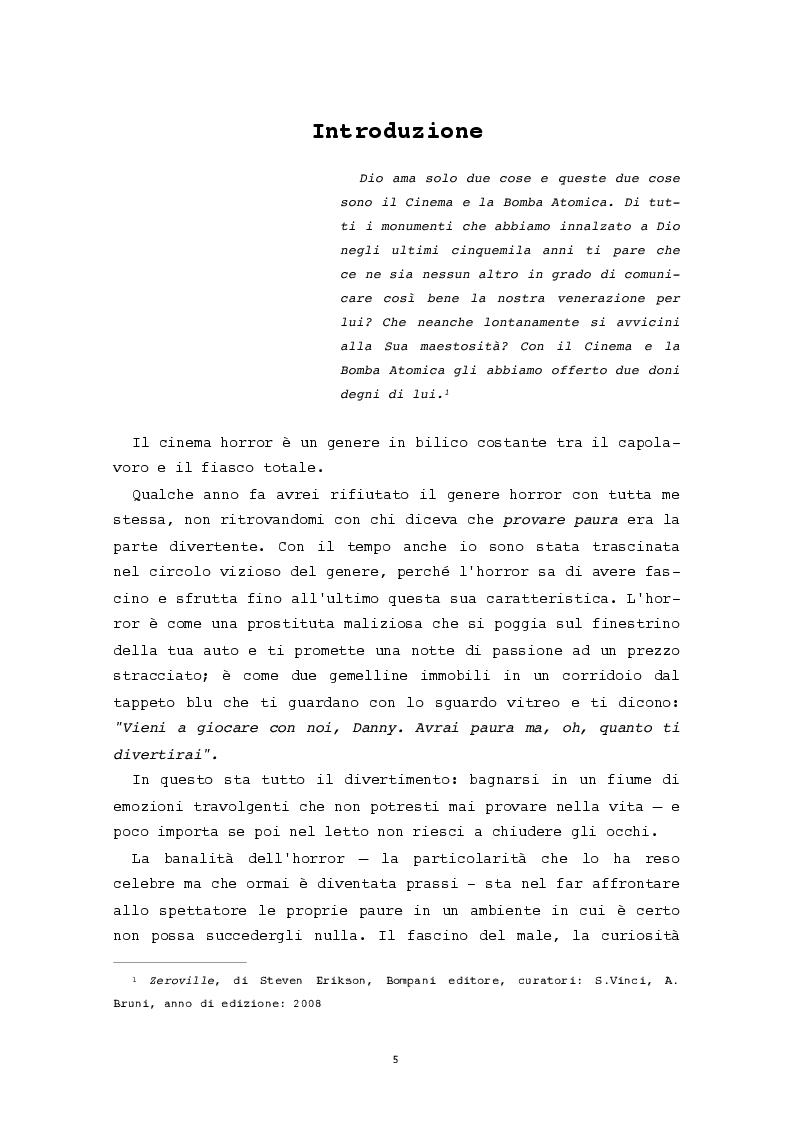 Anteprima della tesi: L'evidenza celata: le trame invisibili del cinema horror, Pagina 2