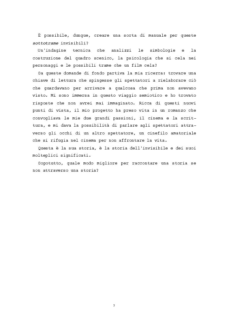 Anteprima della tesi: L'evidenza celata: le trame invisibili del cinema horror, Pagina 4