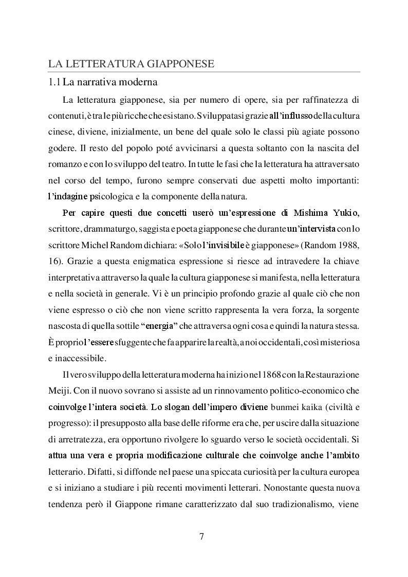 Anteprima della tesi: L'uomo è ciò che mangia. Studio del cibo nella narrazione di Haruki Murakami, Pagina 5