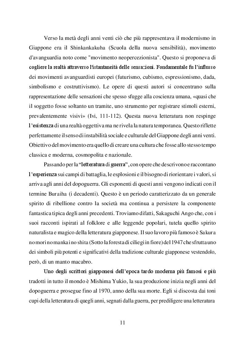 Anteprima della tesi: L'uomo è ciò che mangia. Studio del cibo nella narrazione di Haruki Murakami, Pagina 9