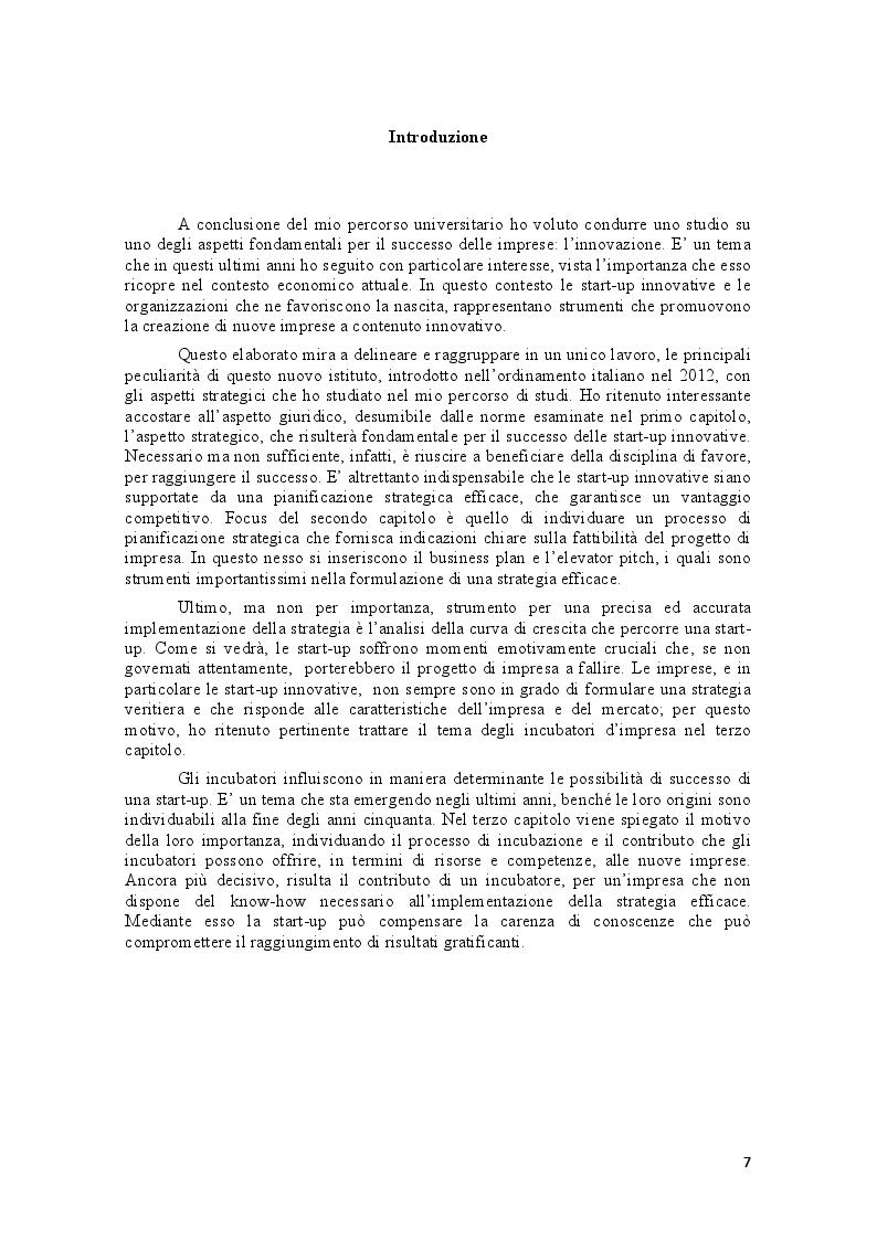 Anteprima della tesi: Le start-up e gli incubatori di impresa: due modelli per favorire l'imprenditorialità, Pagina 3