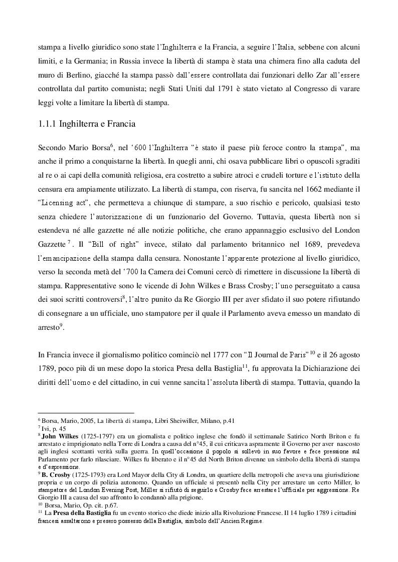 Anteprima della tesi: La libertà di stampa in America Latina: i media venezuelani tra censura e resistenza , Pagina 5