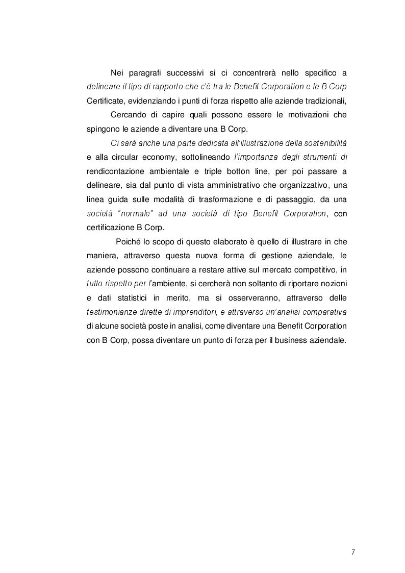 Anteprima della tesi: Le Benefit Corporation: applicazione della certificazione B Corp come strumento per veicolare lo sviluppo sostenibile, Pagina 4