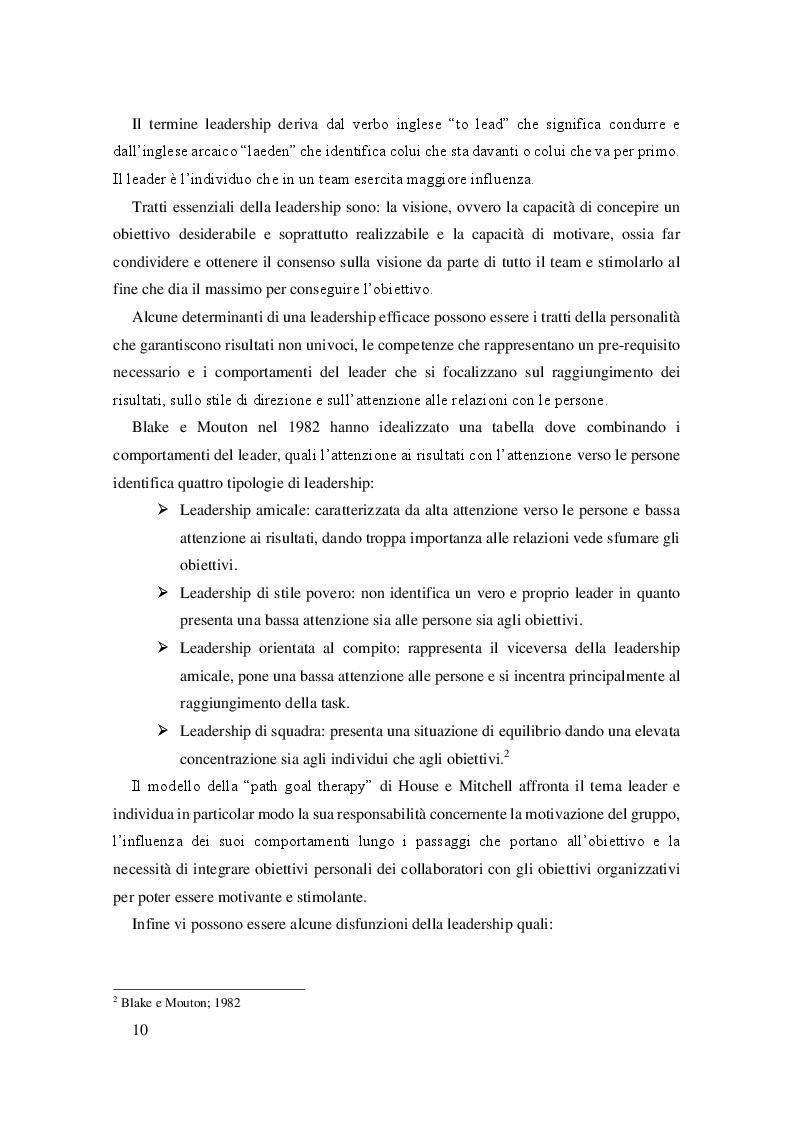 Anteprima della tesi: La leadership e il caso Steve Jobs, Pagina 6
