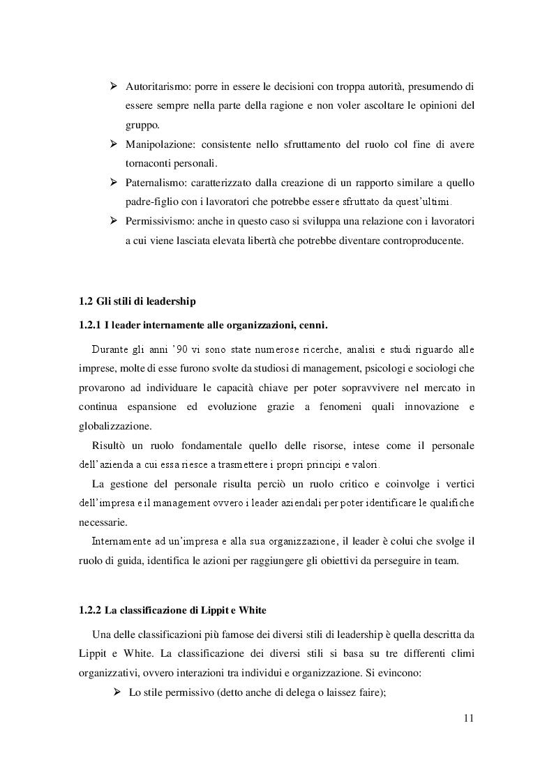 Anteprima della tesi: La leadership e il caso Steve Jobs, Pagina 7