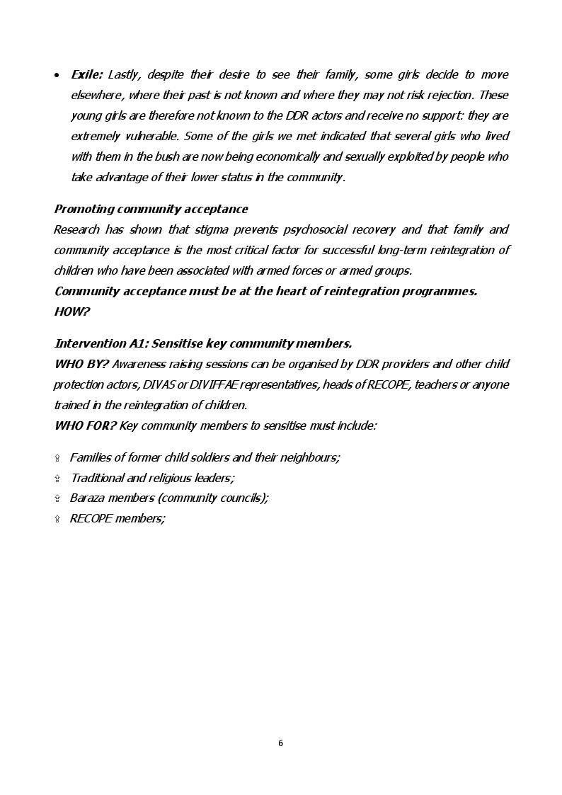 Anteprima della tesi: Child Soldiers International: la situazione delle bambine soldato nella Repubblica Democratica del Congo, Pagina 8