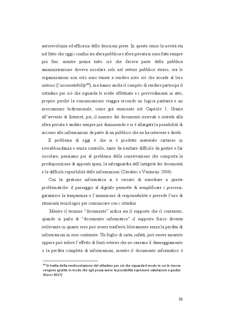 Estratto dalla tesi: Le priorità del digitale e la svolta 3.0 del comune di Pesaro
