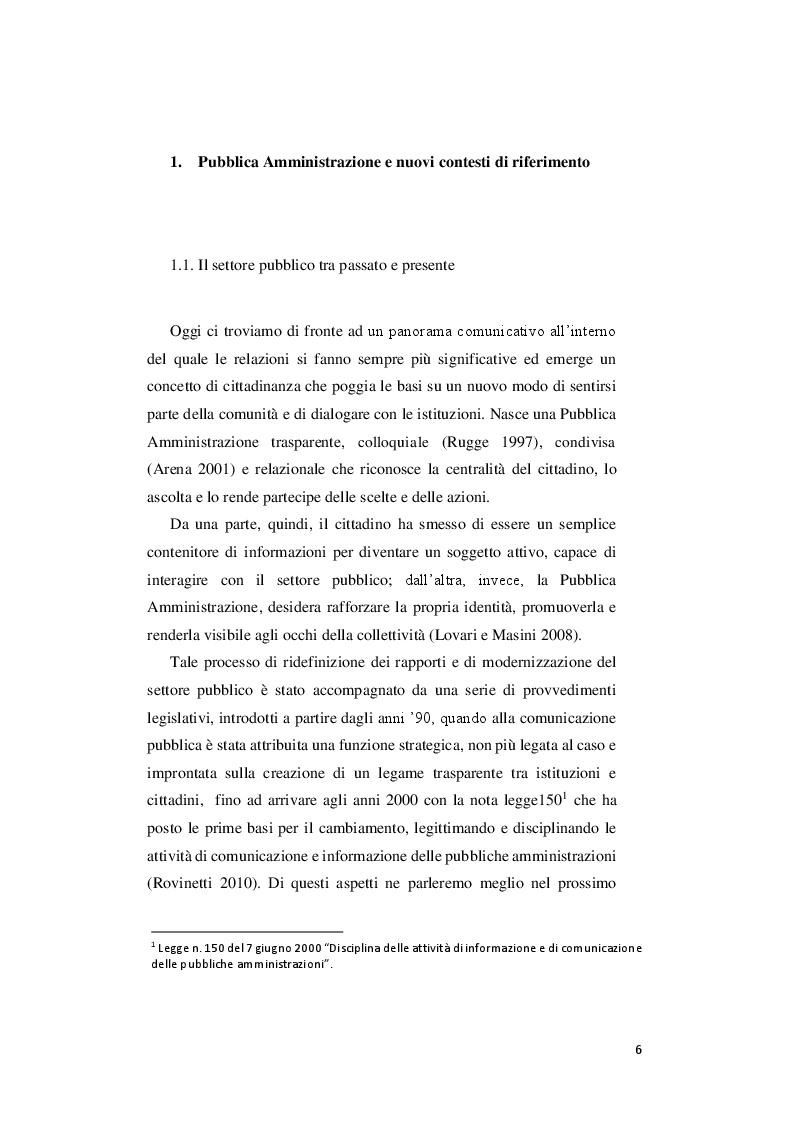 Anteprima della tesi: Le priorità del digitale e la svolta 3.0 del comune di Pesaro, Pagina 4