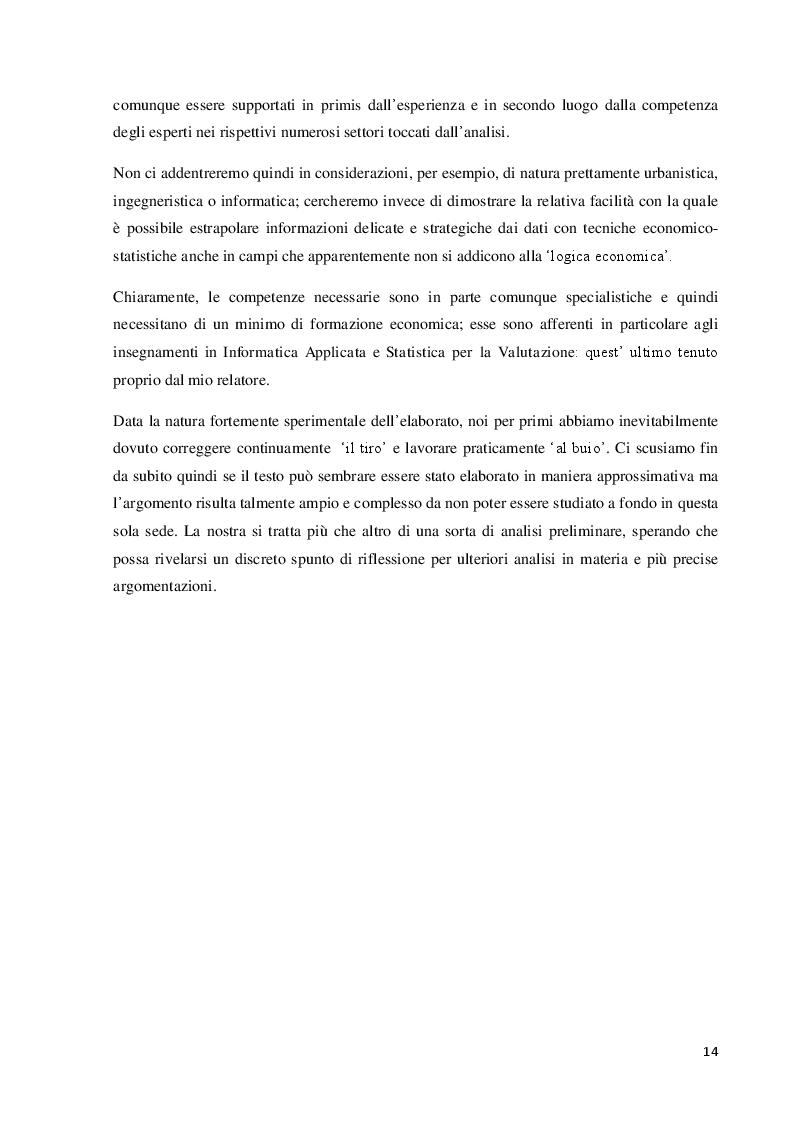 Anteprima della tesi: La Business Intelligence a supporto della riqualificazione urbana: Firenze Smart City, Pagina 7