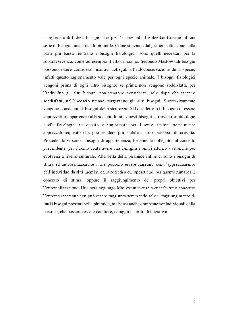 Anteprima della tesi: Il comportamento del consumatore nel comparto cheap fashion. Il caso Zara, Pagina 6