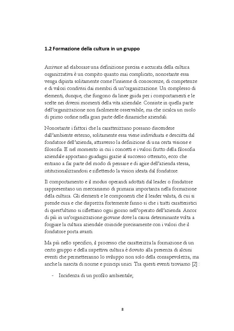Anteprima della tesi: La Cultura Organizzativa di Toyota: il caso MG Motors, Pagina 6