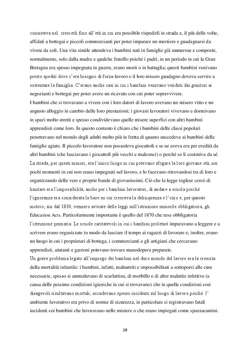 Anteprima della tesi: La figura del fanciullo nel romanzo europeo del XIX secolo, Pagina 5