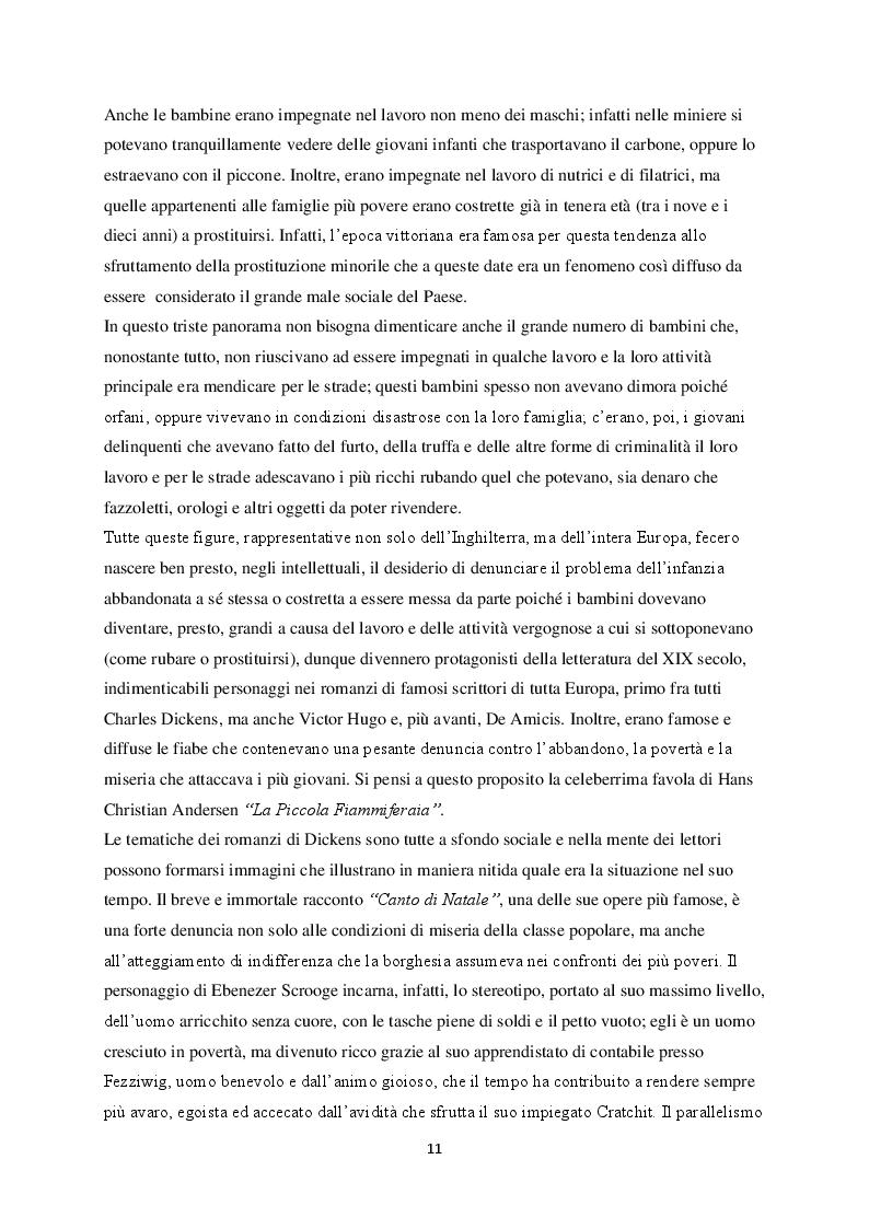 Anteprima della tesi: La figura del fanciullo nel romanzo europeo del XIX secolo, Pagina 6