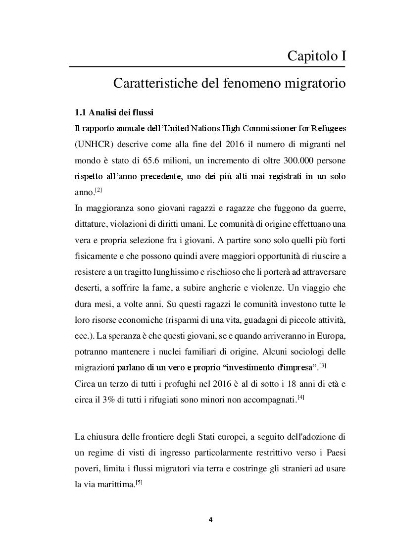 Anteprima della tesi: Incidenza di Patologia Chirurgica acuta in popolazione di migranti Studio osservazionale multicentrico, Pagina 5