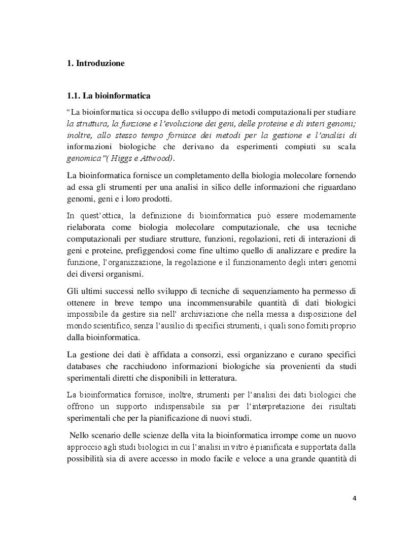 Anteprima della tesi: Analisi comparativa dei geni del ciclo cellulare in A. Thaliana e S. Cerevisiae, Pagina 2