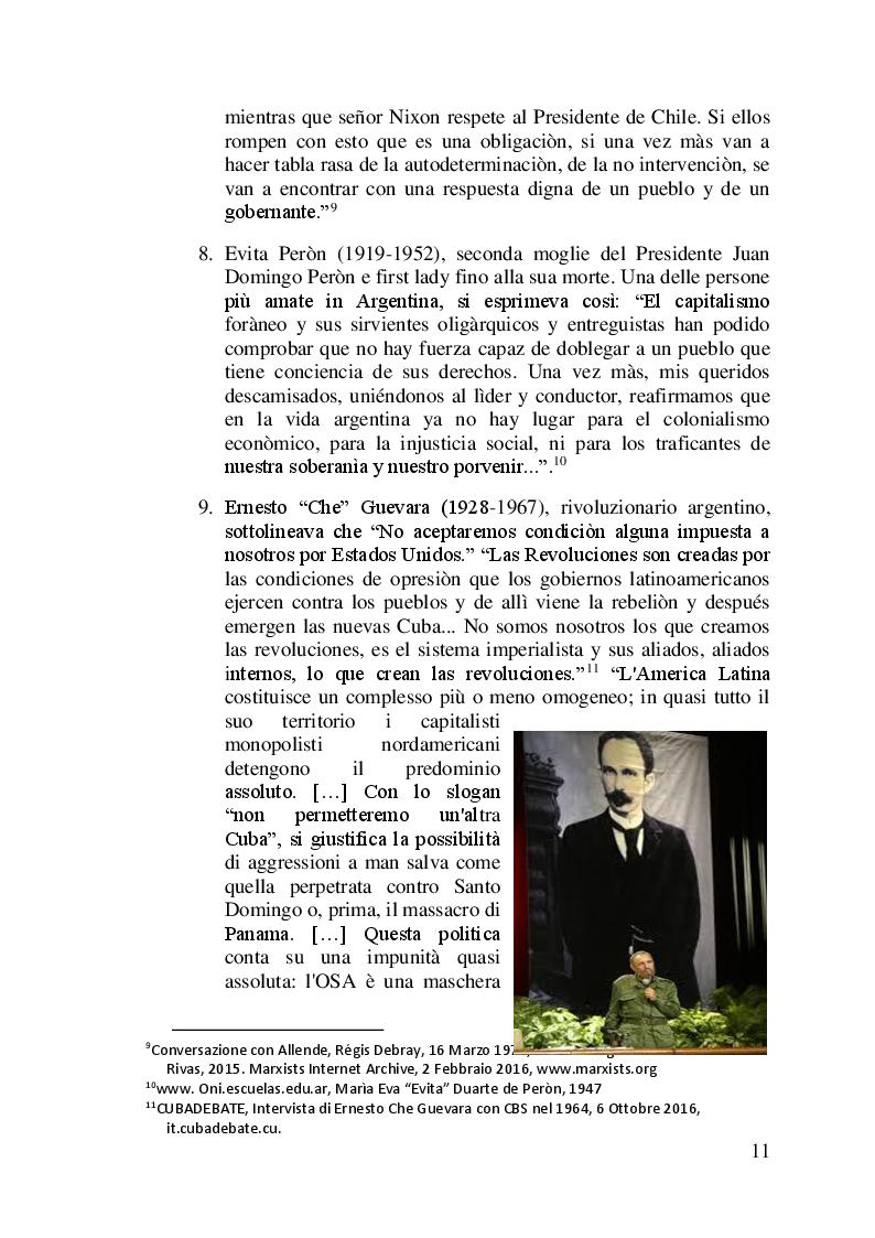 Anteprima della tesi: I difficili rapporti USA-ALC e gli sviluppi del regionalismo anti-egemonico, Pagina 8