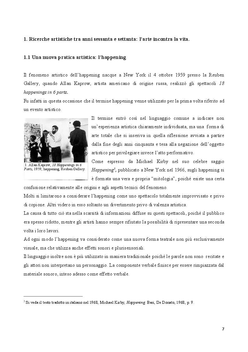 Anteprima della tesi: Rito e Catarsi nell'opera artistica di Hermann Nitsch, Pagina 6