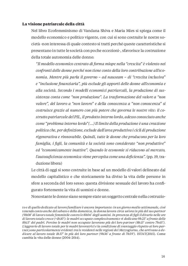 Anteprima della tesi: Città e genere: un'analisi dell'Urbanistica moderna per ripensare le politiche urbane con una prospettiva di genere  , Pagina 6