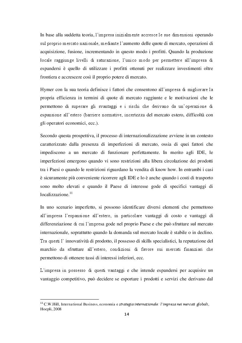 Estratto dalla tesi: Qualità e strategie di internazionalizzazione delle PMI italiane: i risultati di un'indagine empirica sul settore arredo