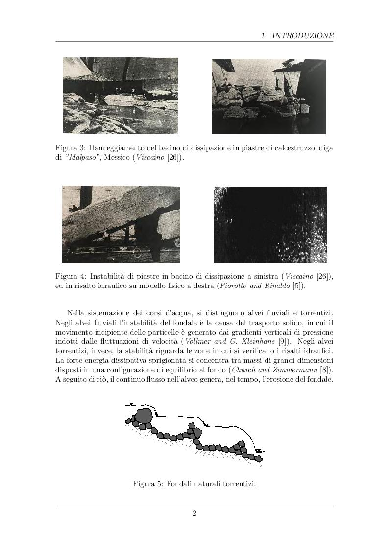 Anteprima della tesi: Analisi di stabilità di fondi naturali soggetti a campi fluttuanti di velocità e pressione, Pagina 4