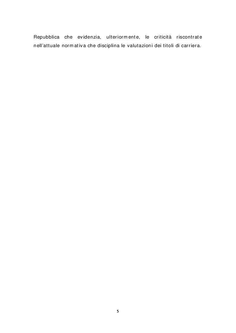 Anteprima della tesi: Analisi normativa e deontologica sull'attuale disparità di valutazione del servizio prestato in enti sanitari pubblici e privati. In merito alla petizione presentata presso il Senato della Repubblica, Pagina 3