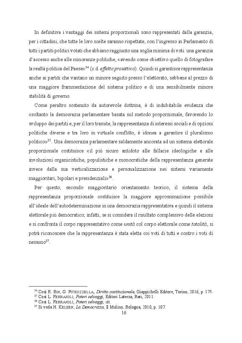Estratto dalla tesi: L'evoluzione del sistema elettorale nell'ordinamento costituzionale italiano. Il ruolo della Corte costituzionale