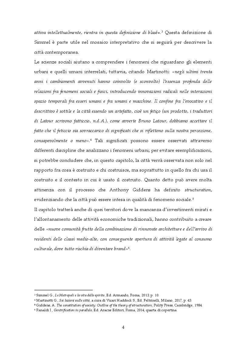 Anteprima della tesi: Gentrification, un fenomeno sociale delle città contemporanee, Pagina 5