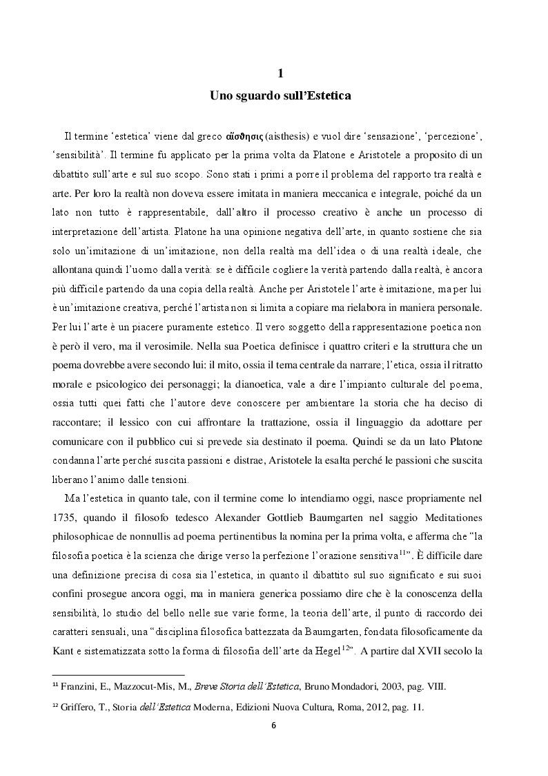 Anteprima della tesi: La teoria estetica di Robert Louis Stevenson, Pagina 5