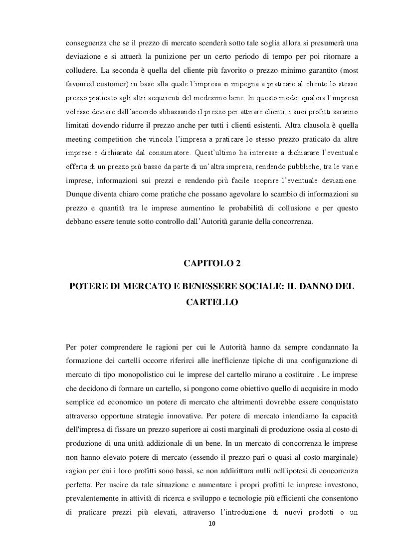 Estratto dalla tesi: Formazione dei cartelli e strumenti di tutela della concorrenza. Il caso Novartis Roche