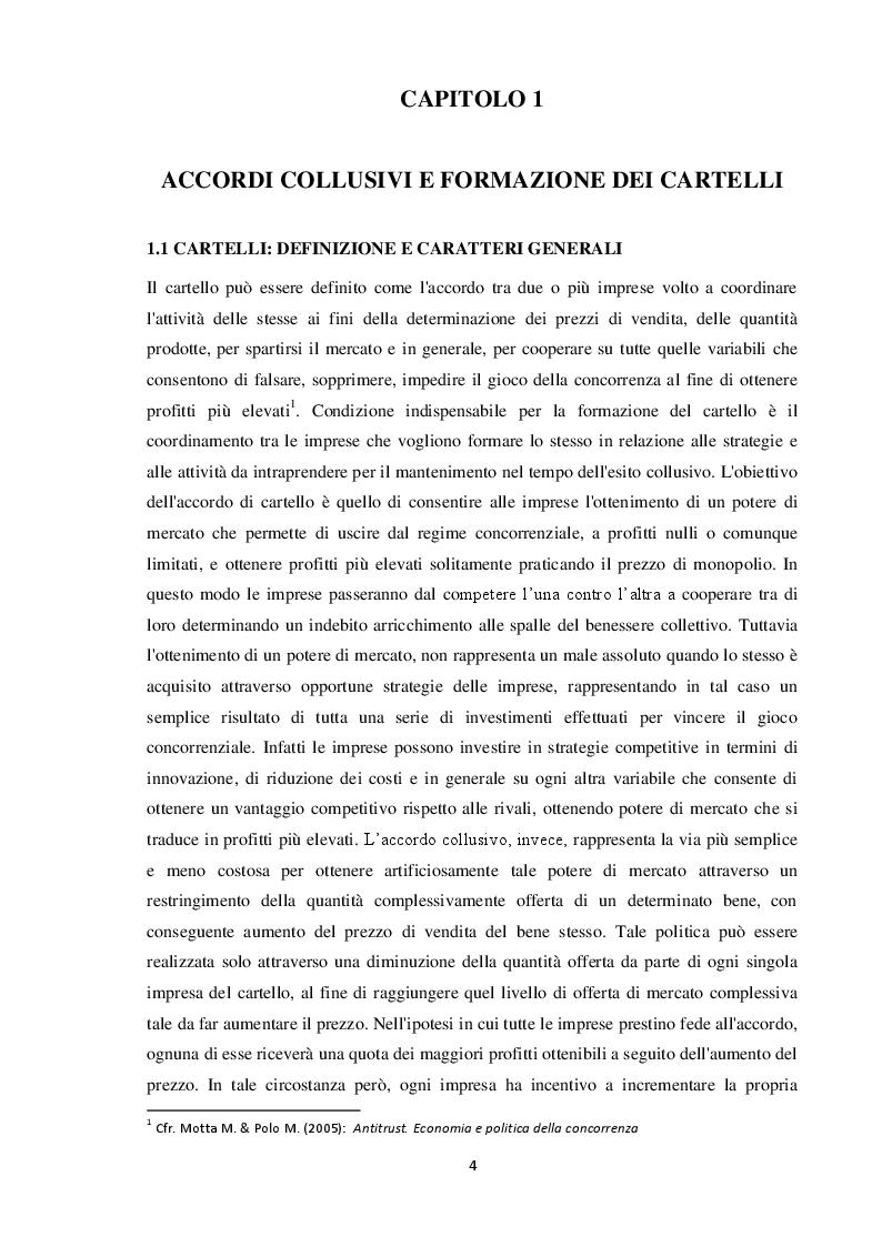 Anteprima della tesi: Formazione dei cartelli e strumenti di tutela della concorrenza. Il caso Novartis Roche, Pagina 4