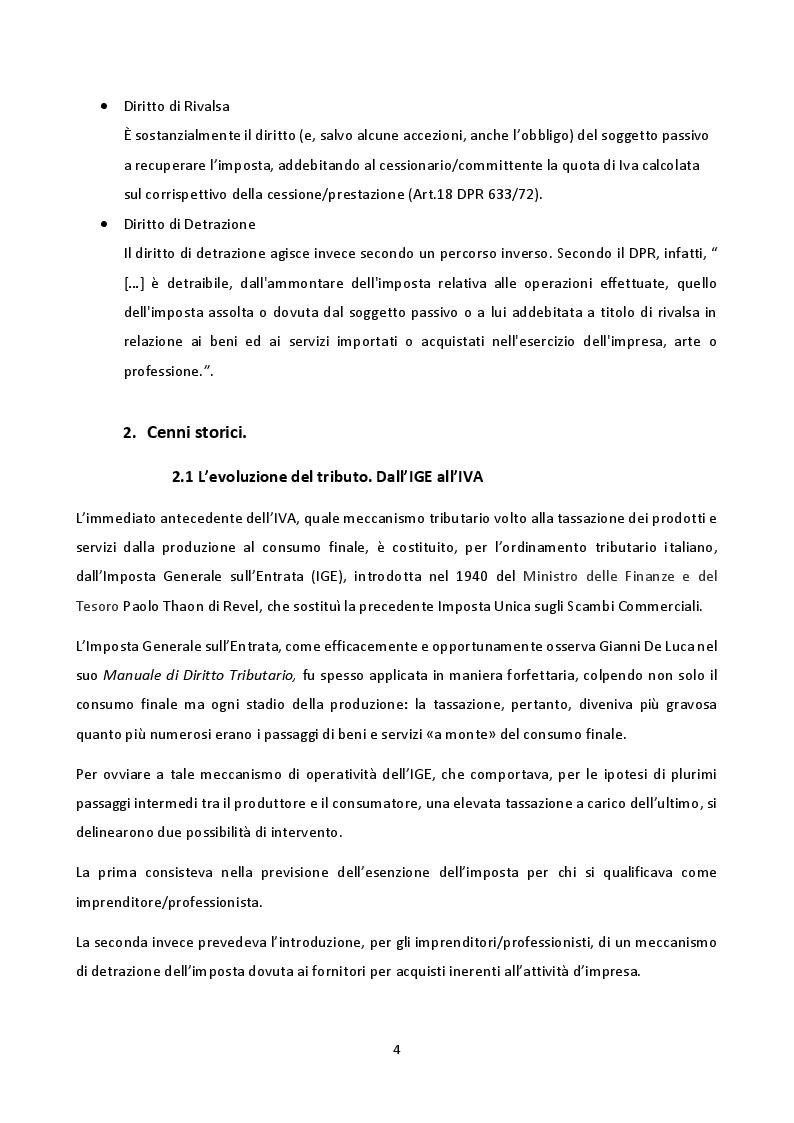 Anteprima della tesi: La disciplina del Reverse Charge e dello Split Payment, Pagina 5