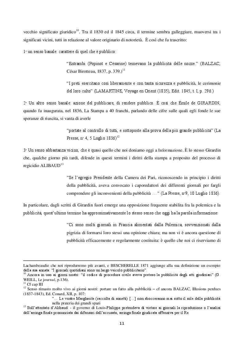 Anteprima della tesi: La langue de la réclame contemporaine - L'eziologia e la genesi della pubblicità francese degli anni '50 e l'analisi del suo codice pioneristico, Pagina 7