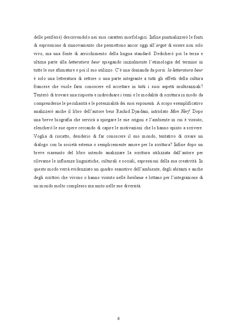 Anteprima della tesi: La banlieue in Francia: analisi storica e socio-linguistica, Pagina 3