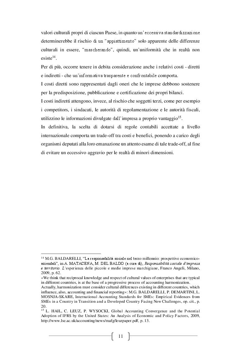 Anteprima della tesi: Il bilancio d'esercizio: novità e criticità emergenti, Pagina 6