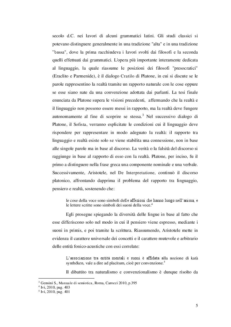 Anteprima della tesi: Ricerca e analisi dei casi di grammaticalizzazione nelle lingue germaniche occidentali: inglese, tedesco e nederlandese a confronto., Pagina 6