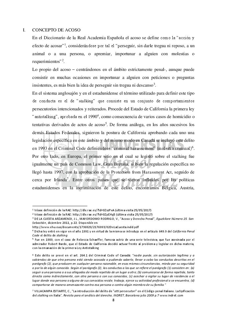 Anteprima della tesi: Una aproximación al análisis y al estudio del acoso escolar (Approccio all'analisi e allo studio del bullismo), Pagina 5