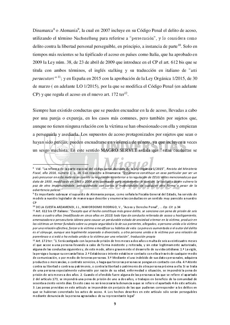 Anteprima della tesi: Una aproximación al análisis y al estudio del acoso escolar (Approccio all'analisi e allo studio del bullismo), Pagina 6
