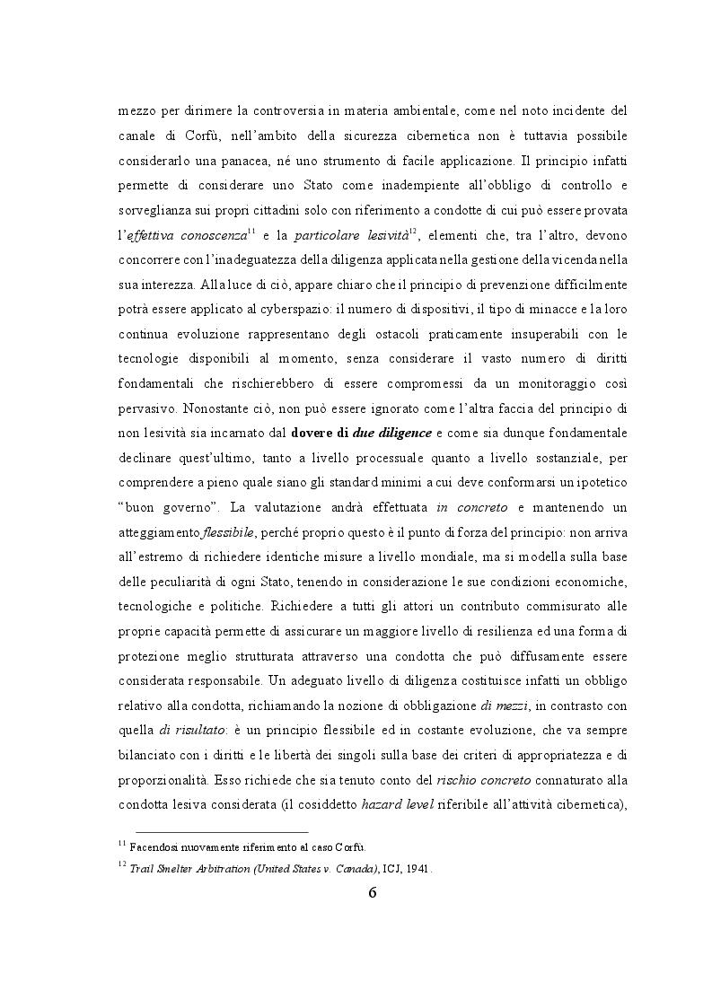 Estratto dalla tesi: Profili Normativi del Cyberspazio a Livello Internazionale, Europeo ed Italiano