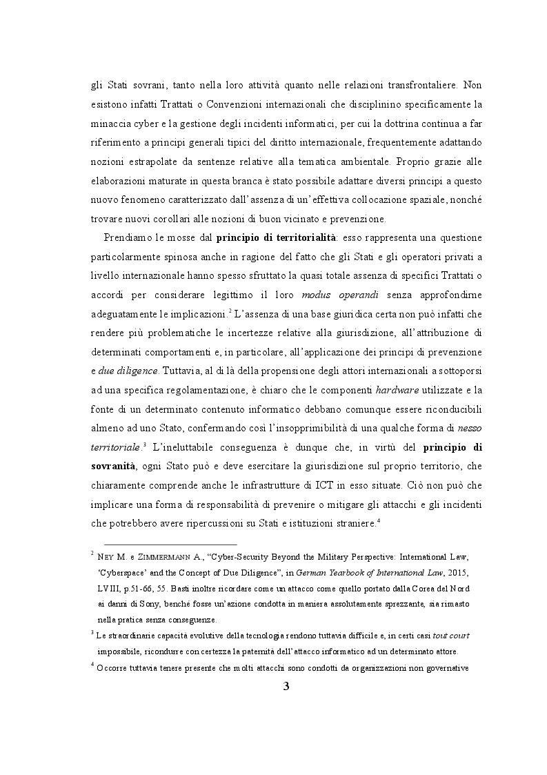 Anteprima della tesi: Profili Normativi del Cyberspazio a Livello Internazionale, Europeo ed Italiano, Pagina 4